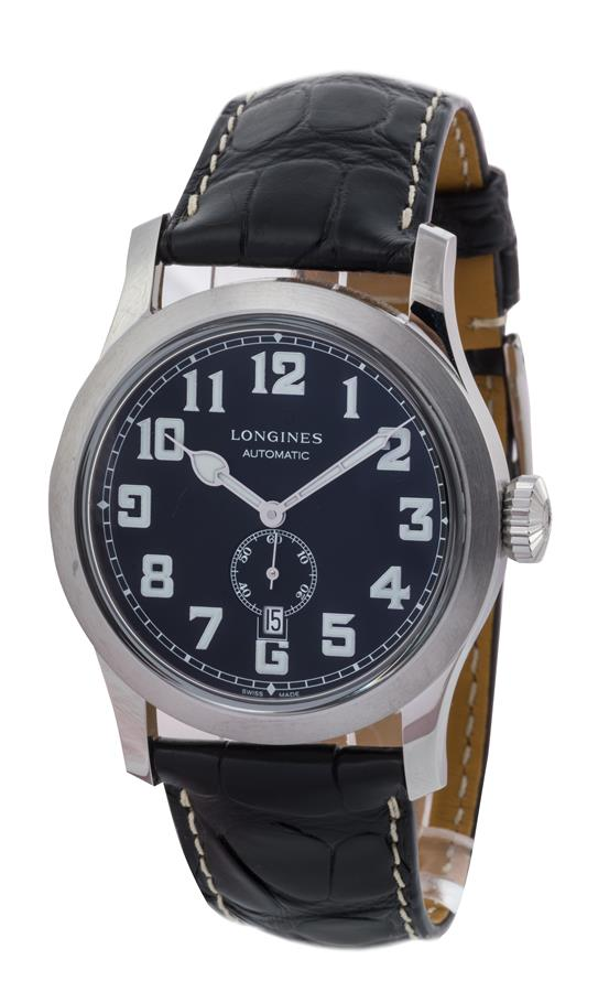 366c724b15138 *LONGINES - The Longines Heritage Military 44 mm- MONTRE d'homme.